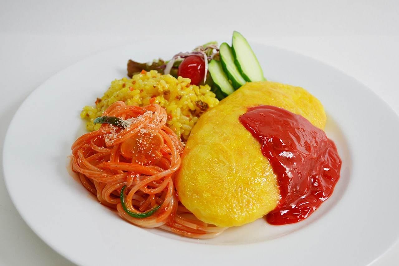 Japanese omelet rice