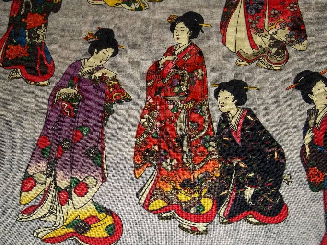 Kimonos in ancient Japan