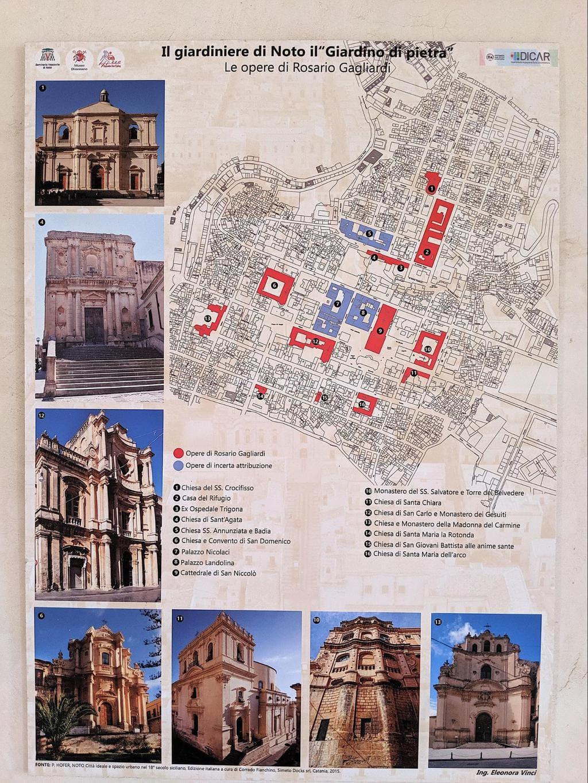 Map of Noto's main buildings 01