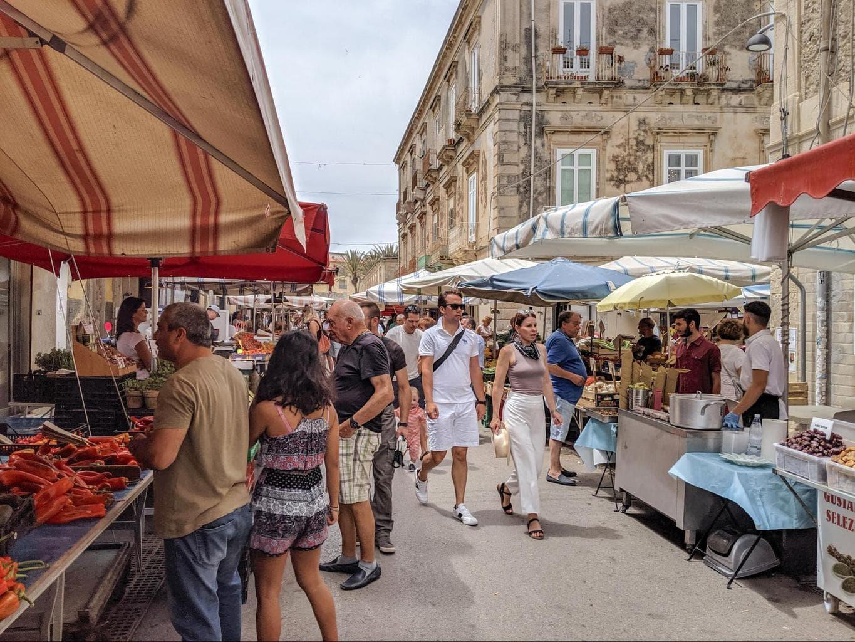 Market of Ortygia