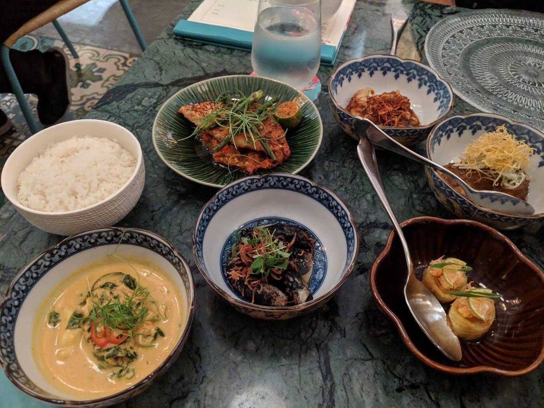 Michelin Star Peranakan cuisine at Candlenut Restaurant