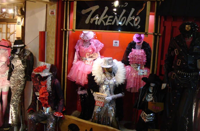 More fun shopping in Tokyo at Takeshita Street