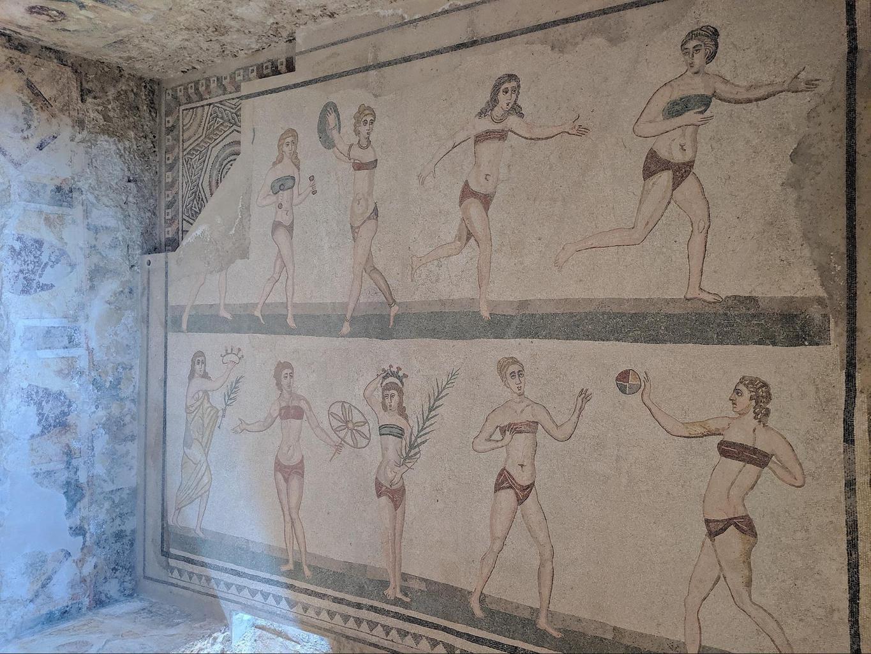 Mosaics at Villa Romana del Casale 03