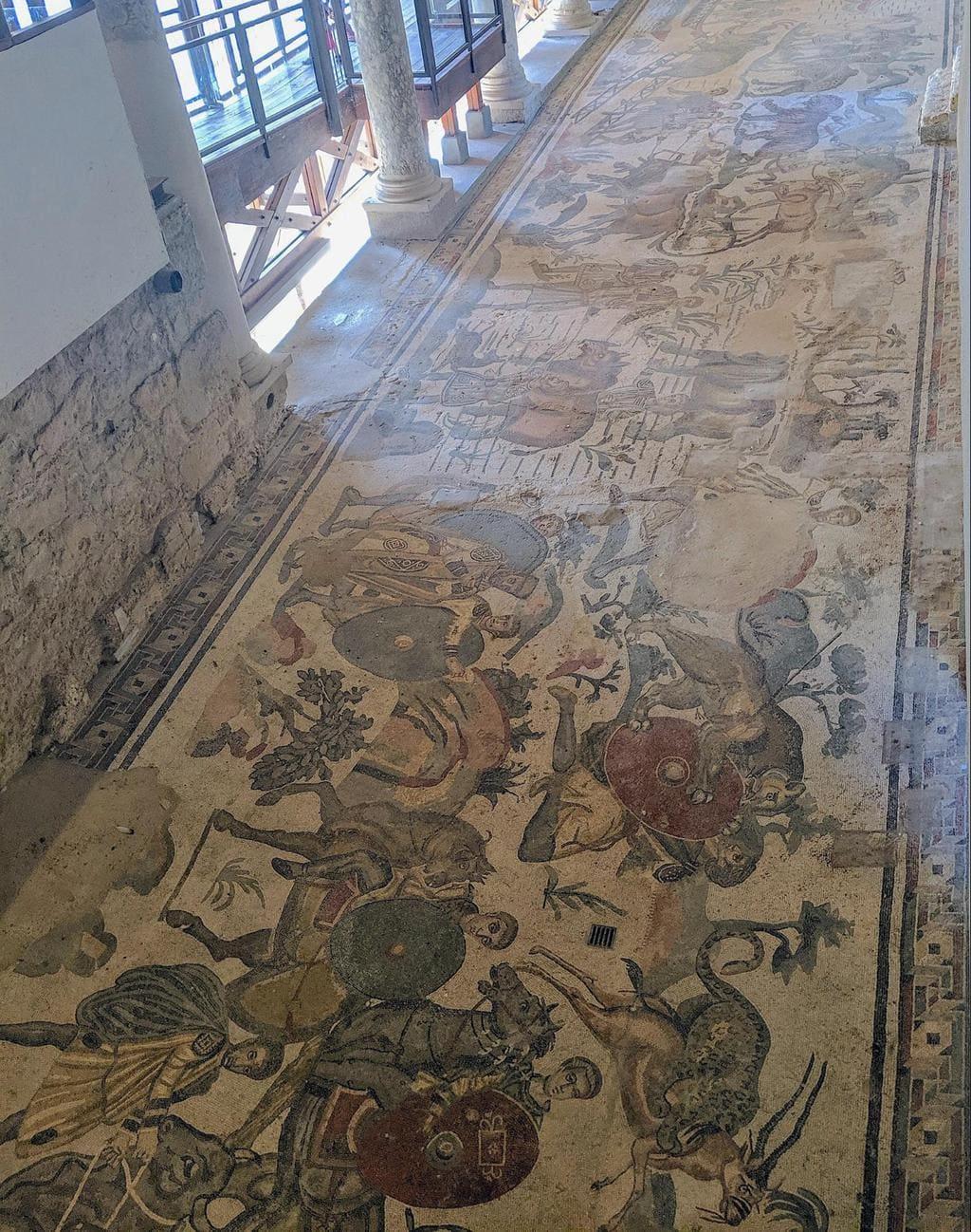 Mosaics at Villa Romana del Casale 04