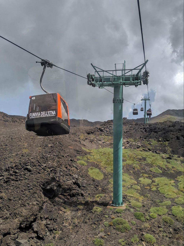 Mount Etna cable car