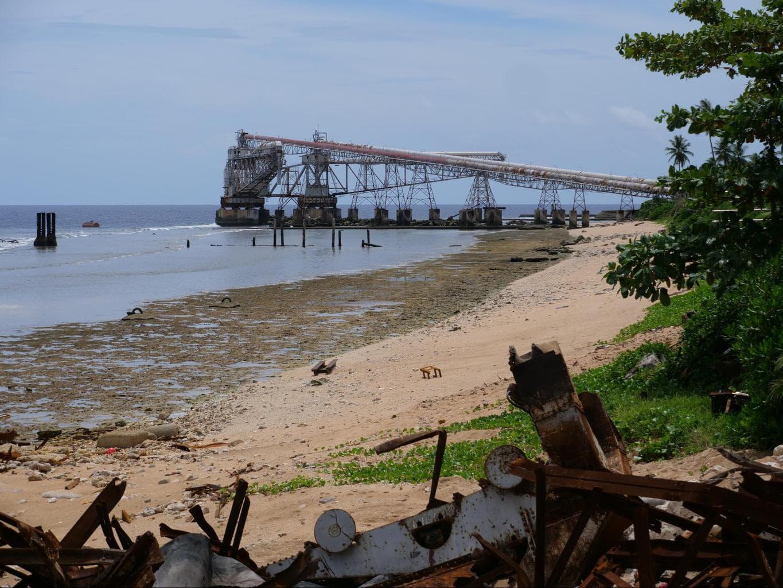 Nauru's phosphate cantilevers