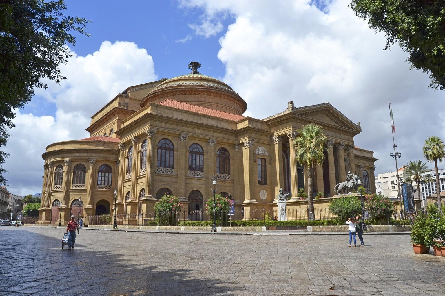 Palermo's Massimo Theatre