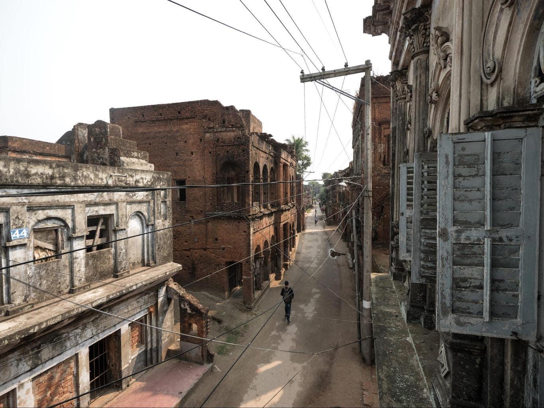 Panam Nagar Bazar street