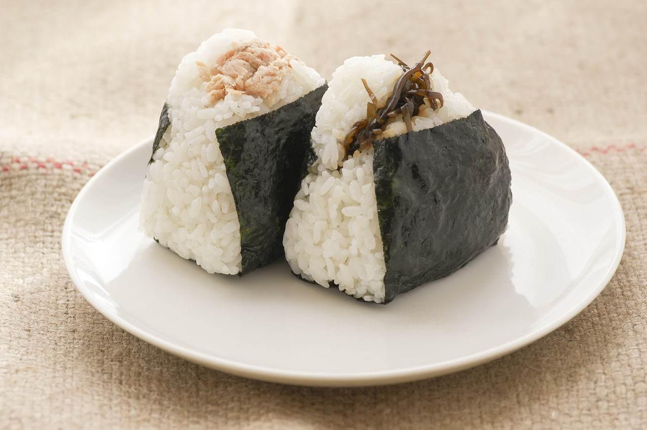 Ready to go Japanese snack, onigiri