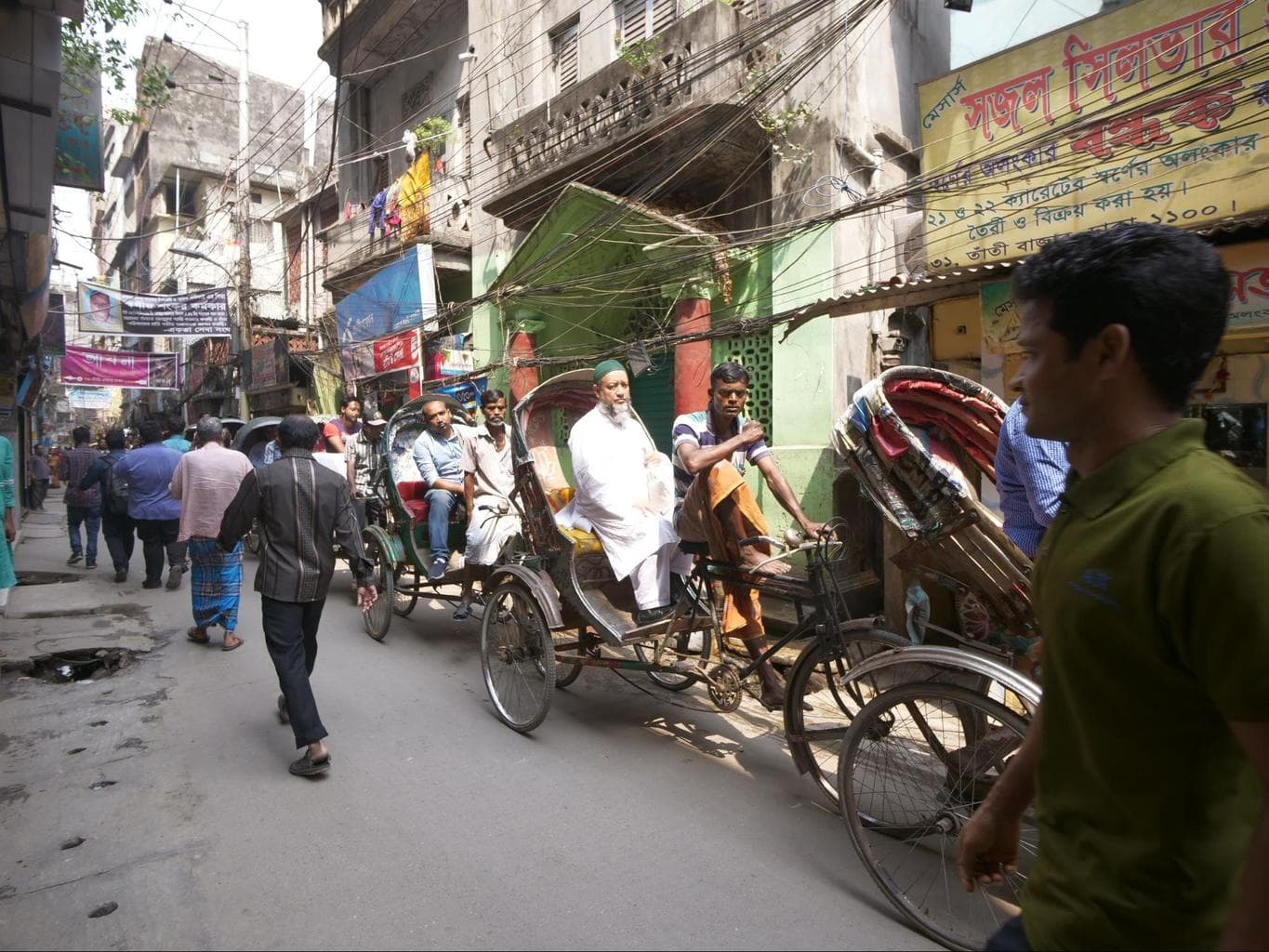 Rickshaw only Old Dhaka