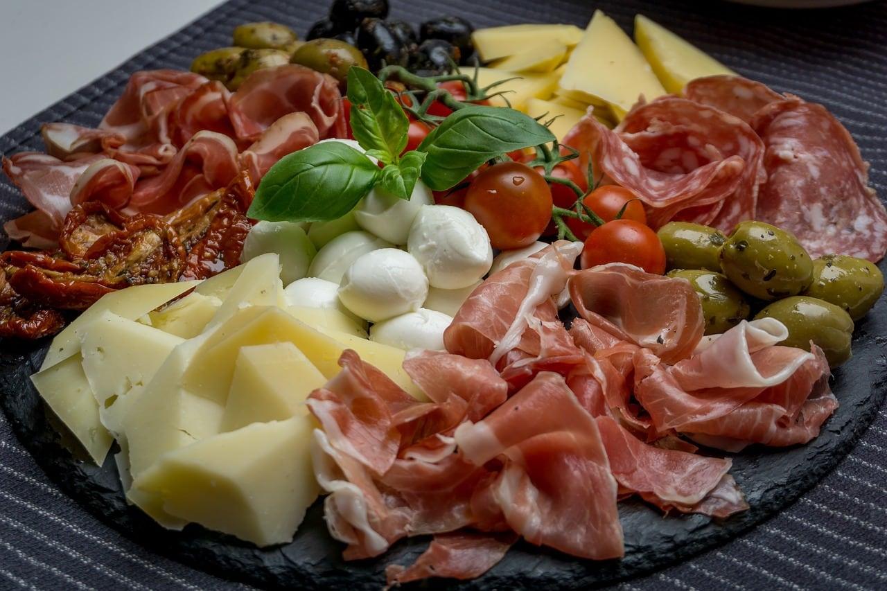 Salami and other charcuterie items