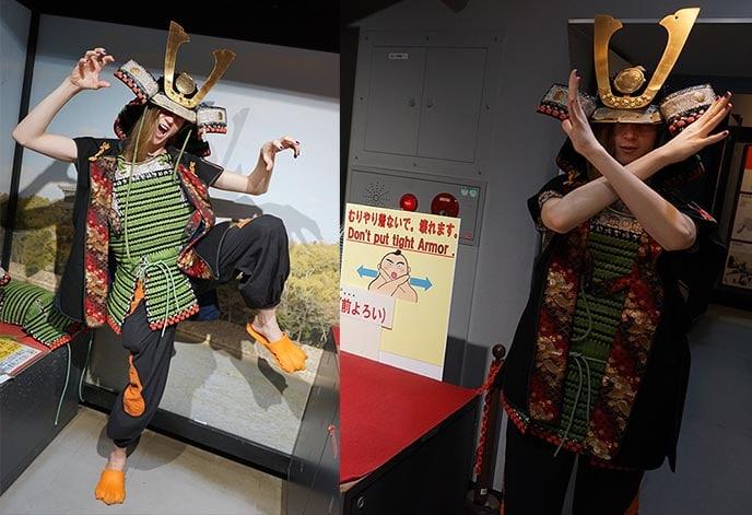 Samurai outfits