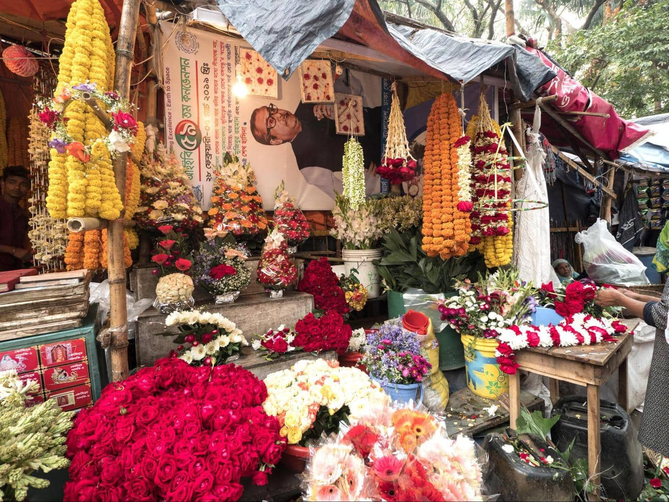 Shahbagh flower market 01