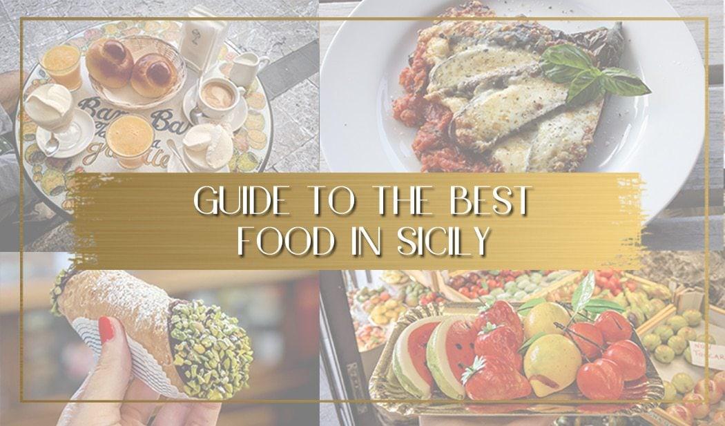 Sicilian Food main