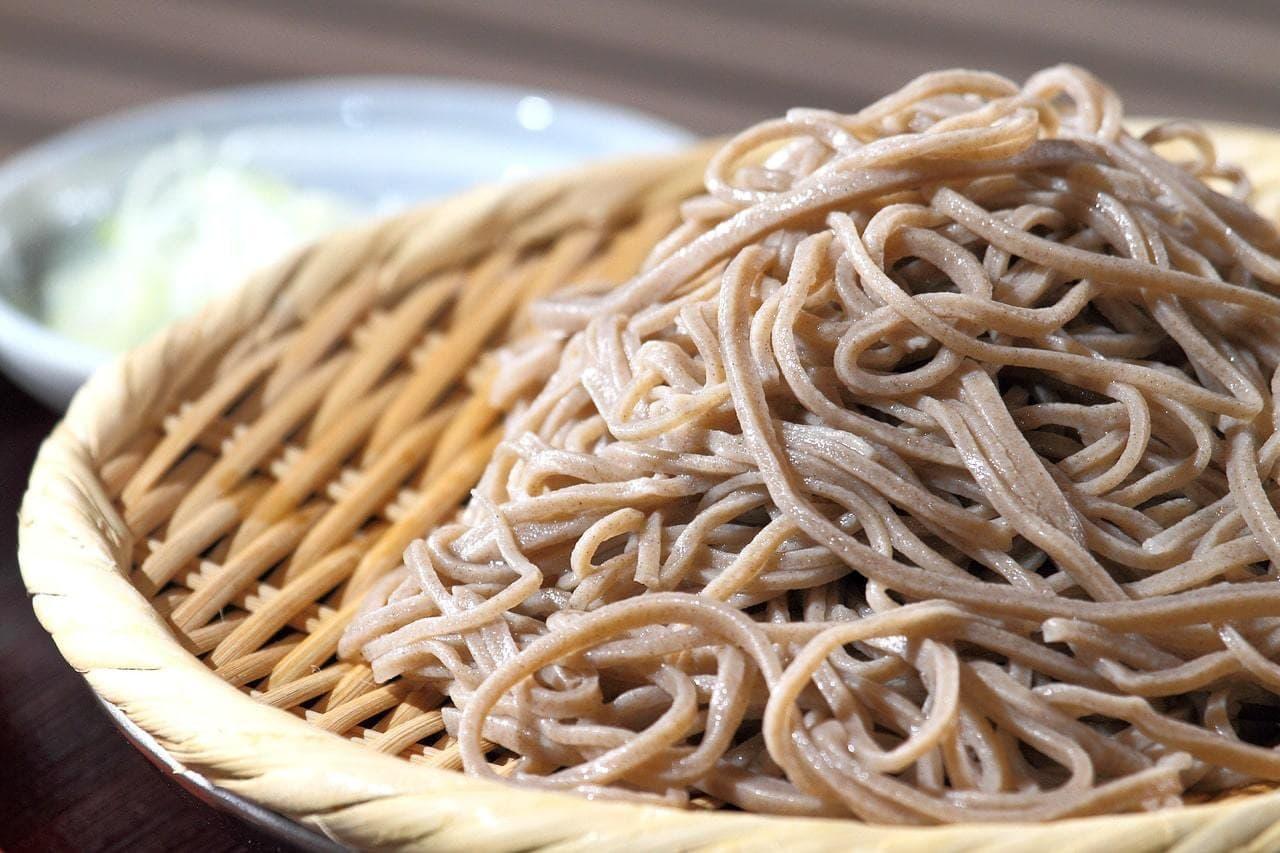Soba noodles, simple Japanese food