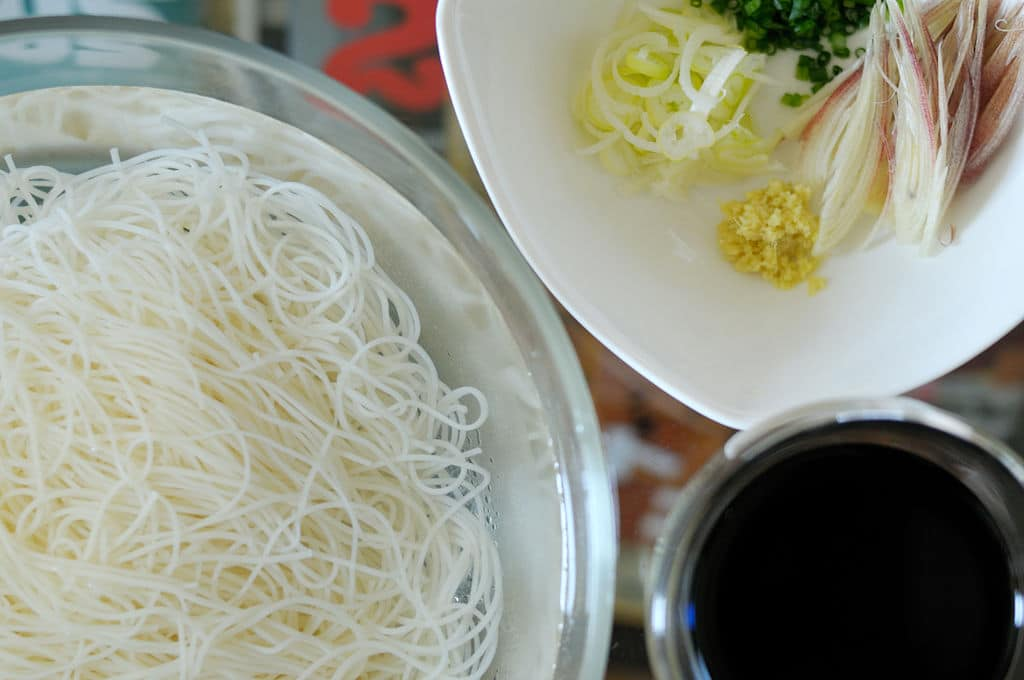 Somen noodles. Photo by Cypher CC BY SA 2.0