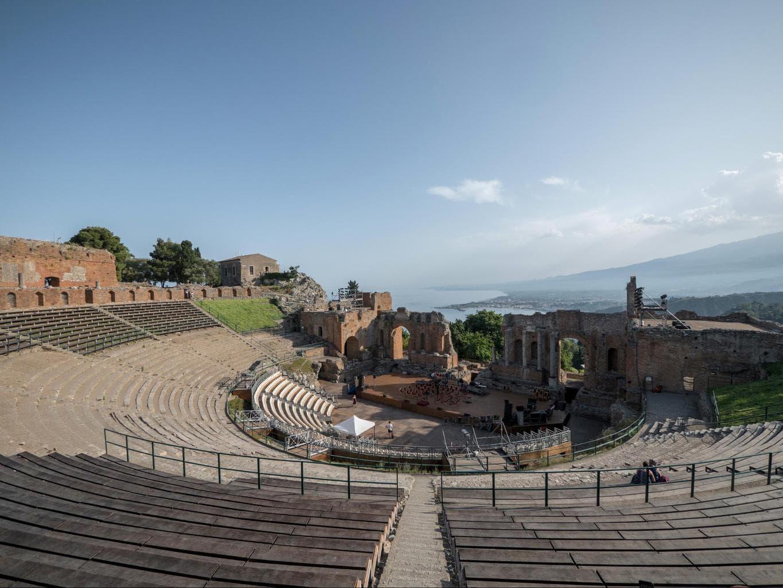 Taormina's Ancient Greek Theatre