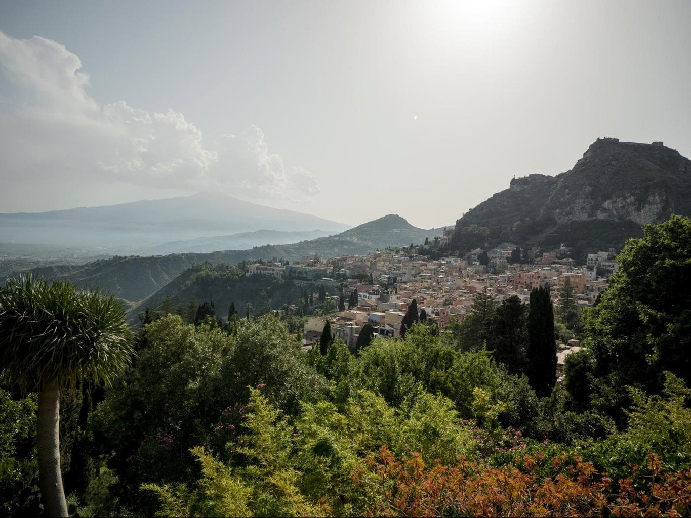 Taormina has a rich past
