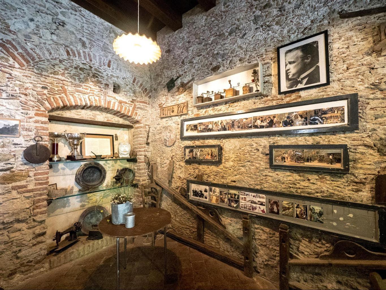 The Godfather photographs at Bar Vitelli