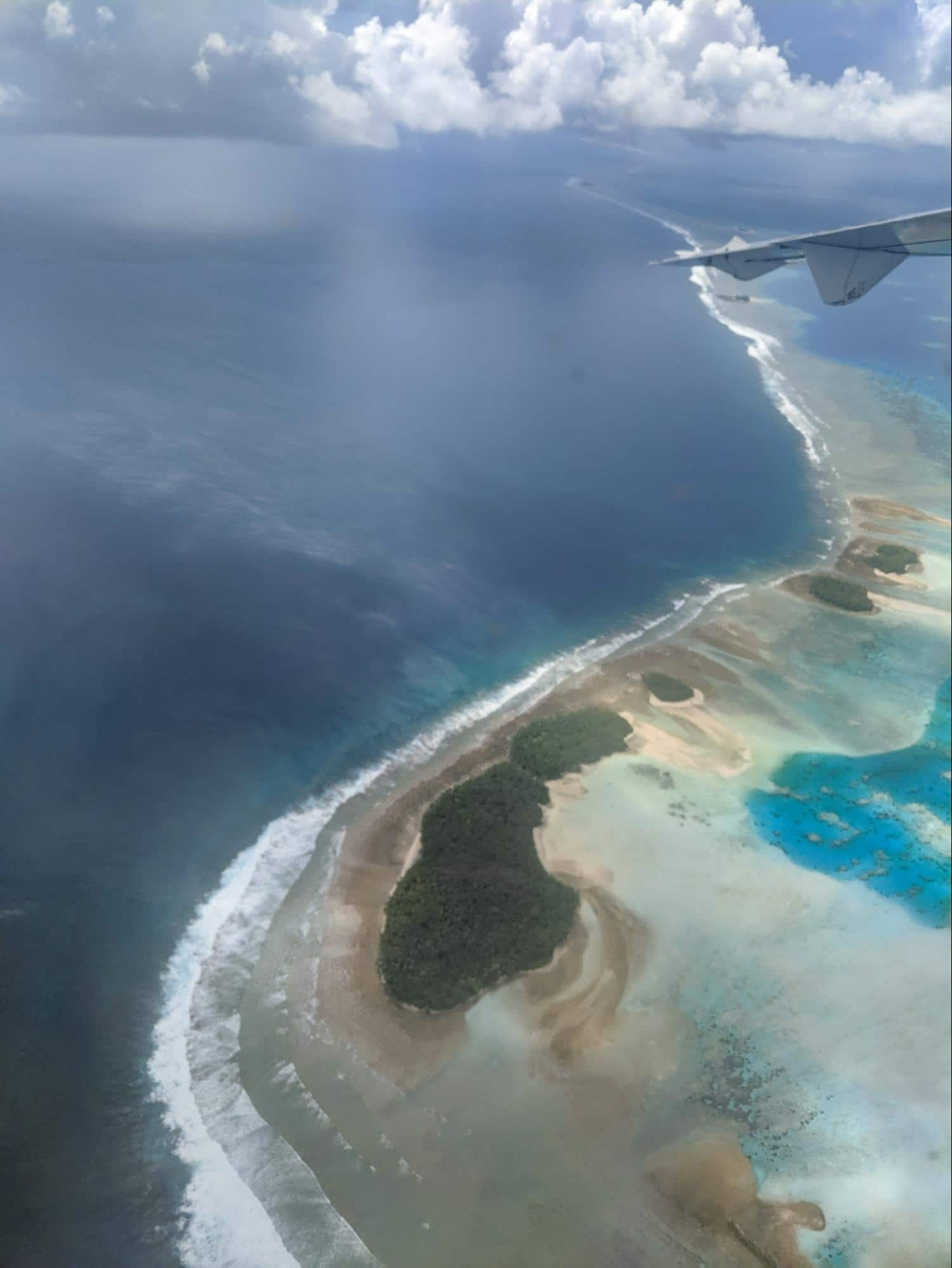 The islets in Funafuti Atoll