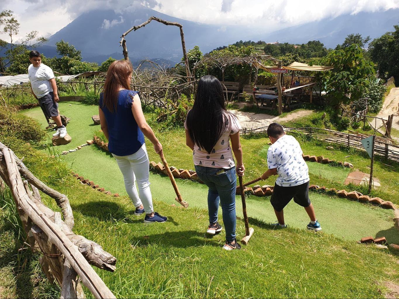Things to do in Hobbitenango - mini golf