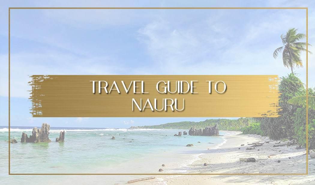Travel guide to Nauru main