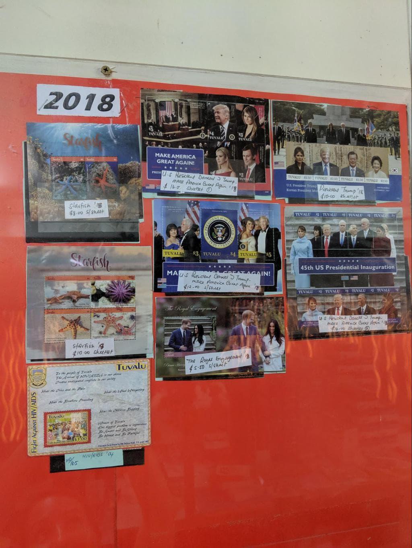 Trump postcards from Tuvalu
