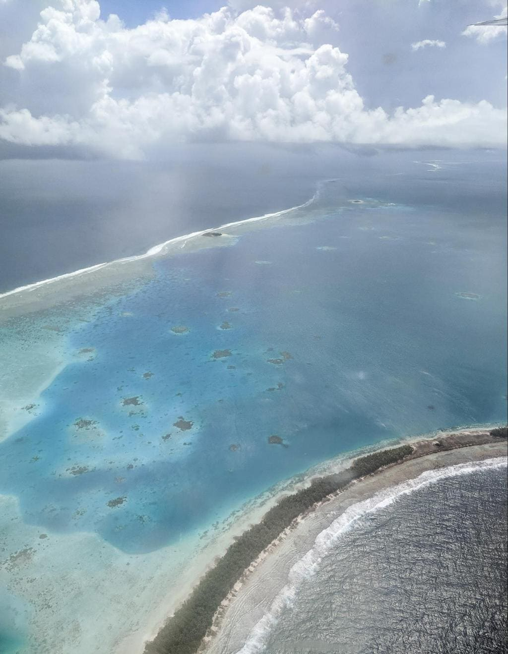 Tuvalu from the air