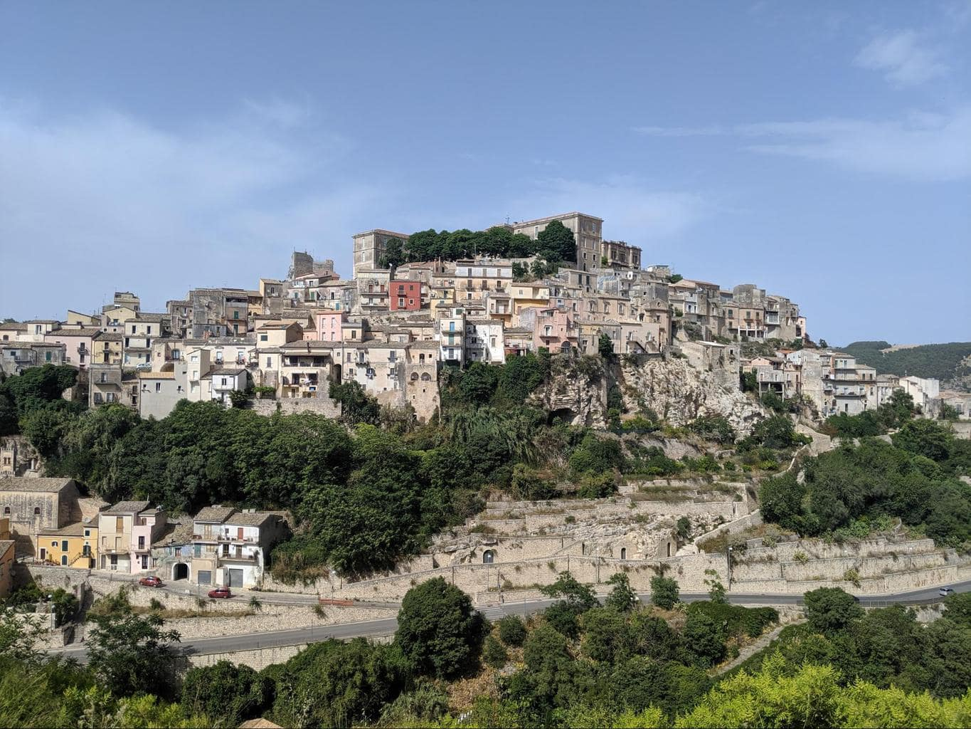 View of old and new Ragusa 01
