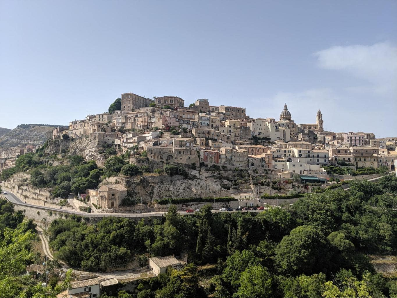 View of old and new Ragusa 02