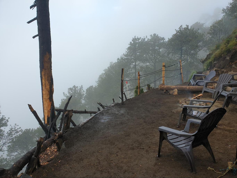 Viewing area at Base camp Acatenango