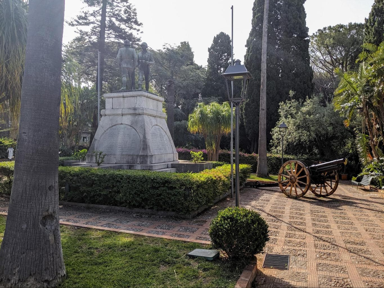 Villa Comunale, Hallington Siculo public park
