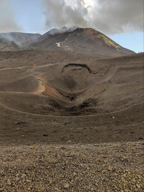 Visiting Mount Etna