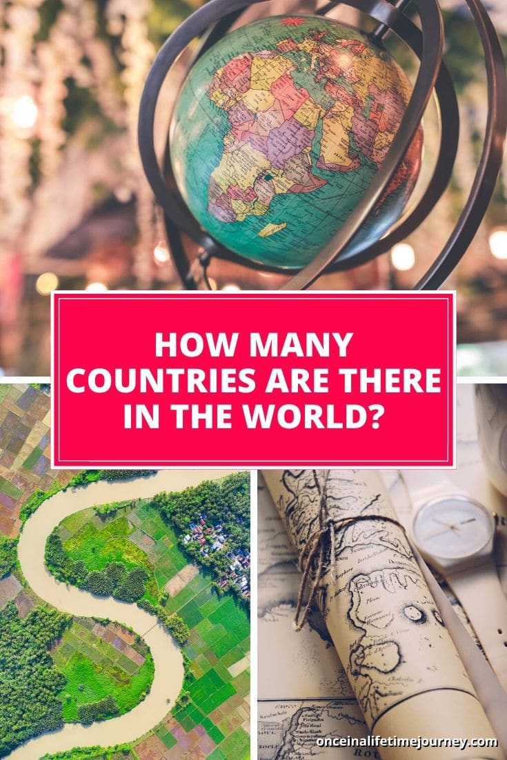 What exactly is a country and how many are there in the world?