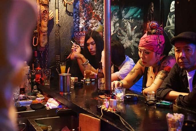 A standard bar in Tokyo