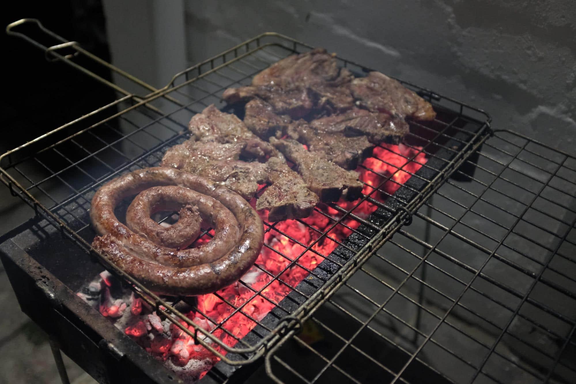 A typical Braai or Shisa nyama