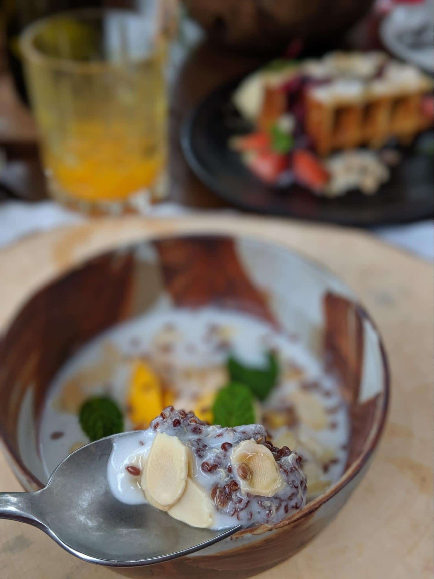 Breakfast bowls and dishes at Capella Ubud 03