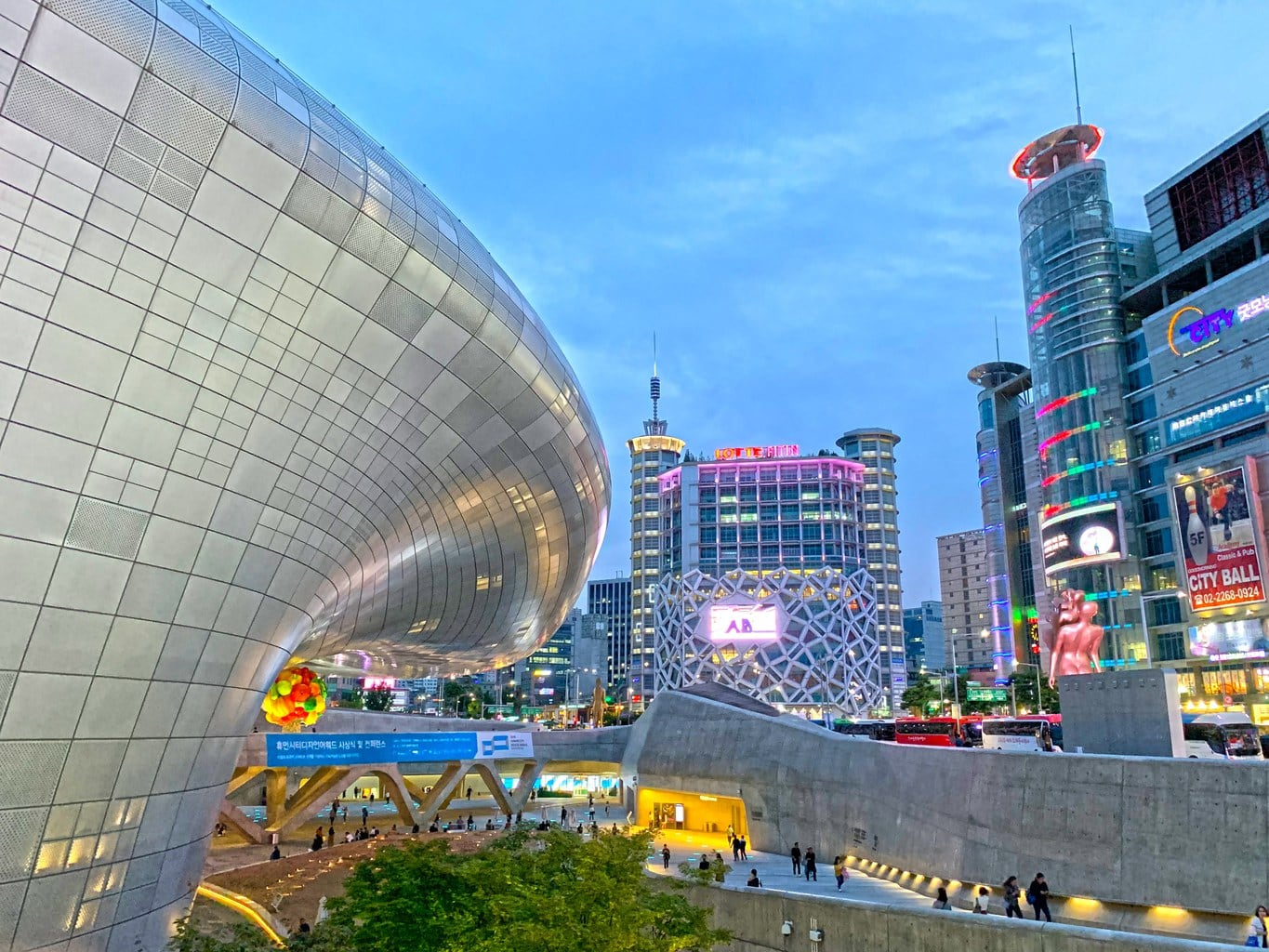 Shopping in Dongdaemun