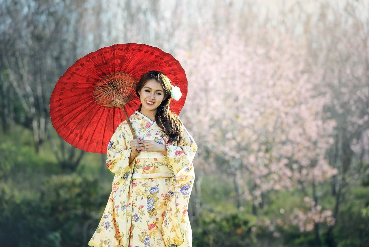 Dressing up like a geisha in Kyoto