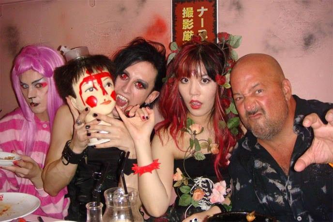Eating among horror in Japan