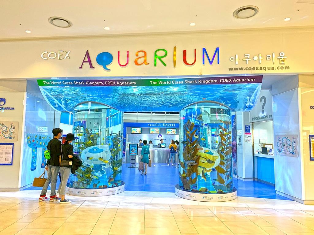 Entrance to COEX Aquarium