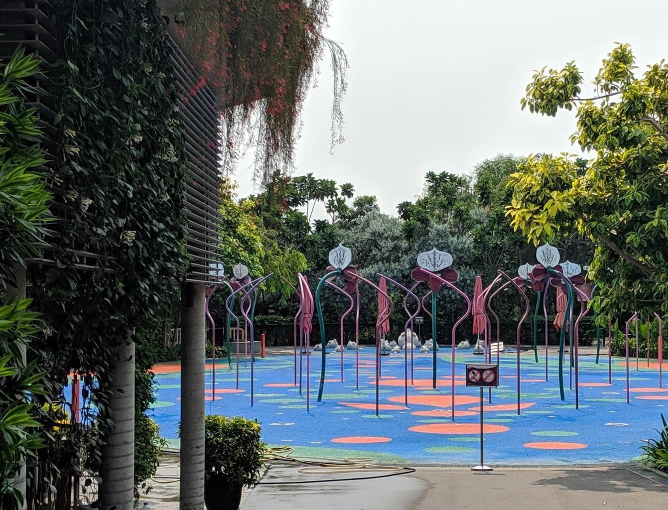 Far East Organisation Children's Garden before opening