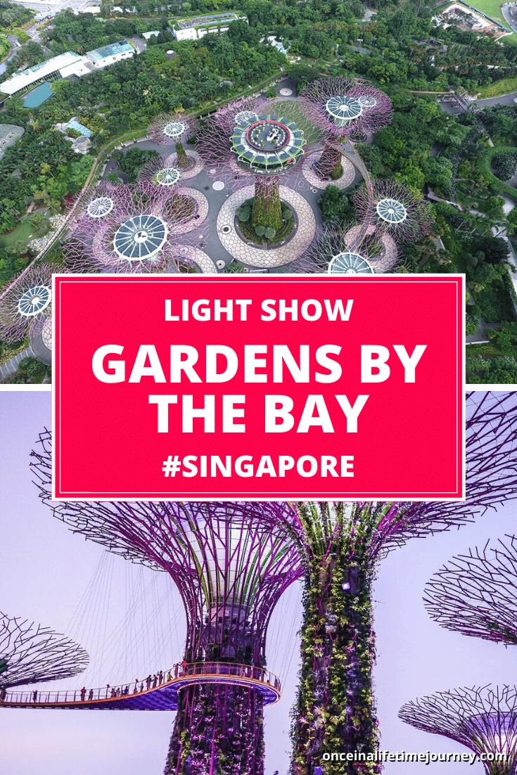 Gardens by the Bay Light Show Pin 01