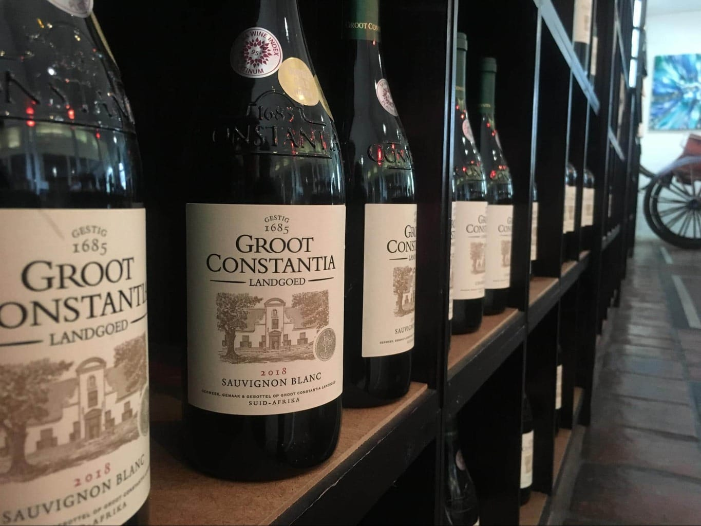 Groot Constantia is the oldest winery in the country