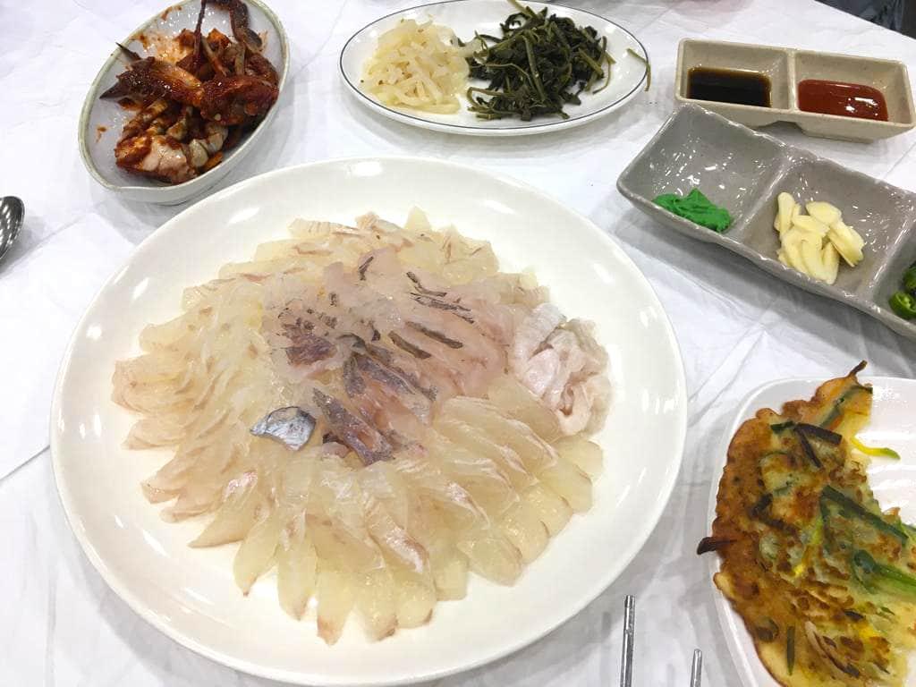 Hoe sashimi