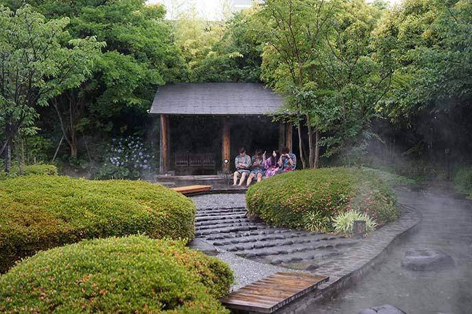 Hot springs in Kyoto