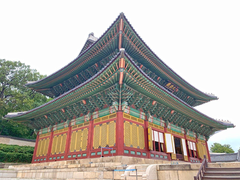 Injeongjeon at Changdeokgung Palace