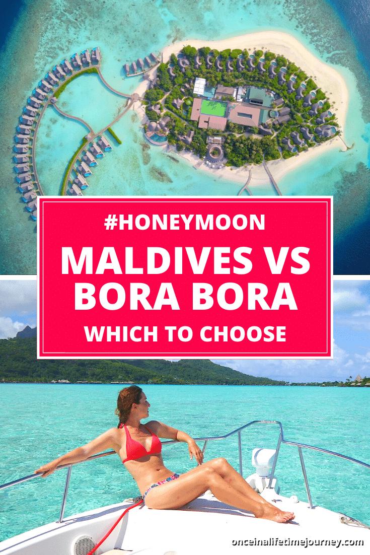 Maldives or Bora Bora Pin 01