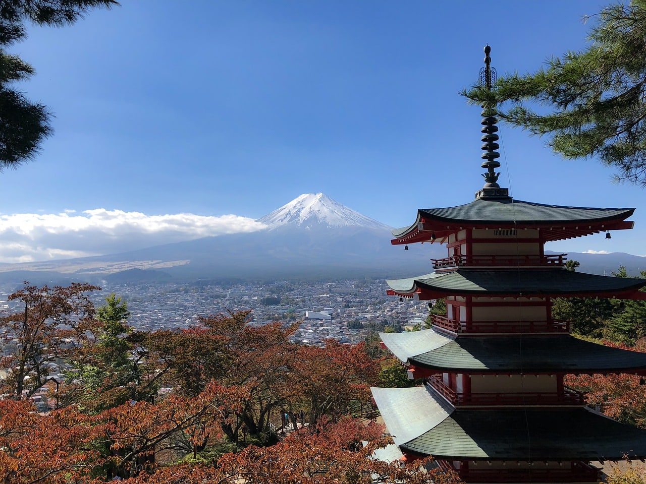 Mount Fuji, a fantastic place to visit in Japan