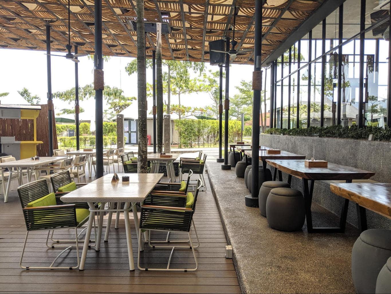 Natra Bintan restaurant Patio
